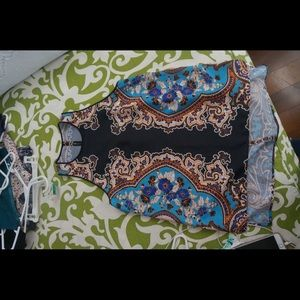 Clover Canyon blouse size small